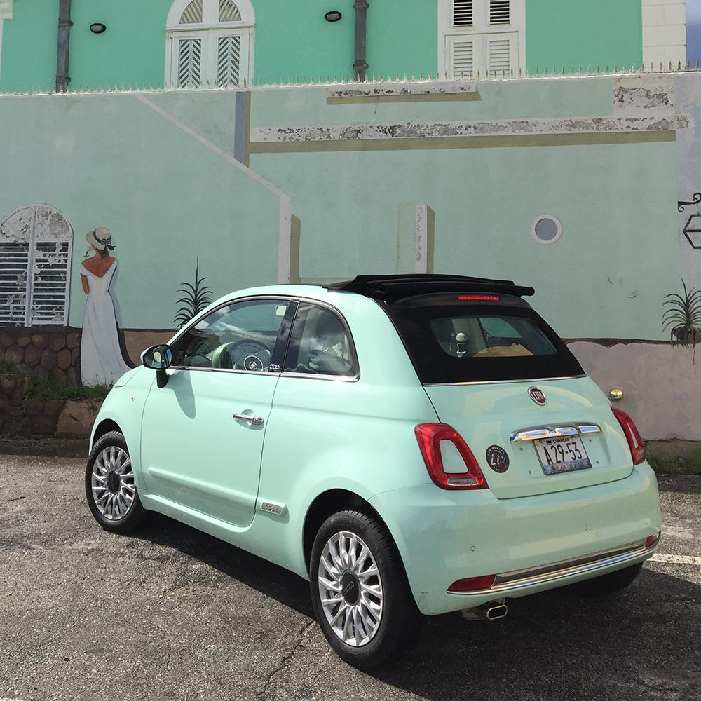 Fiat 500 cabrio mint - USD 55 p.d.*